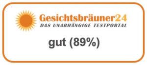 Testsiegel GB24 gut 89%